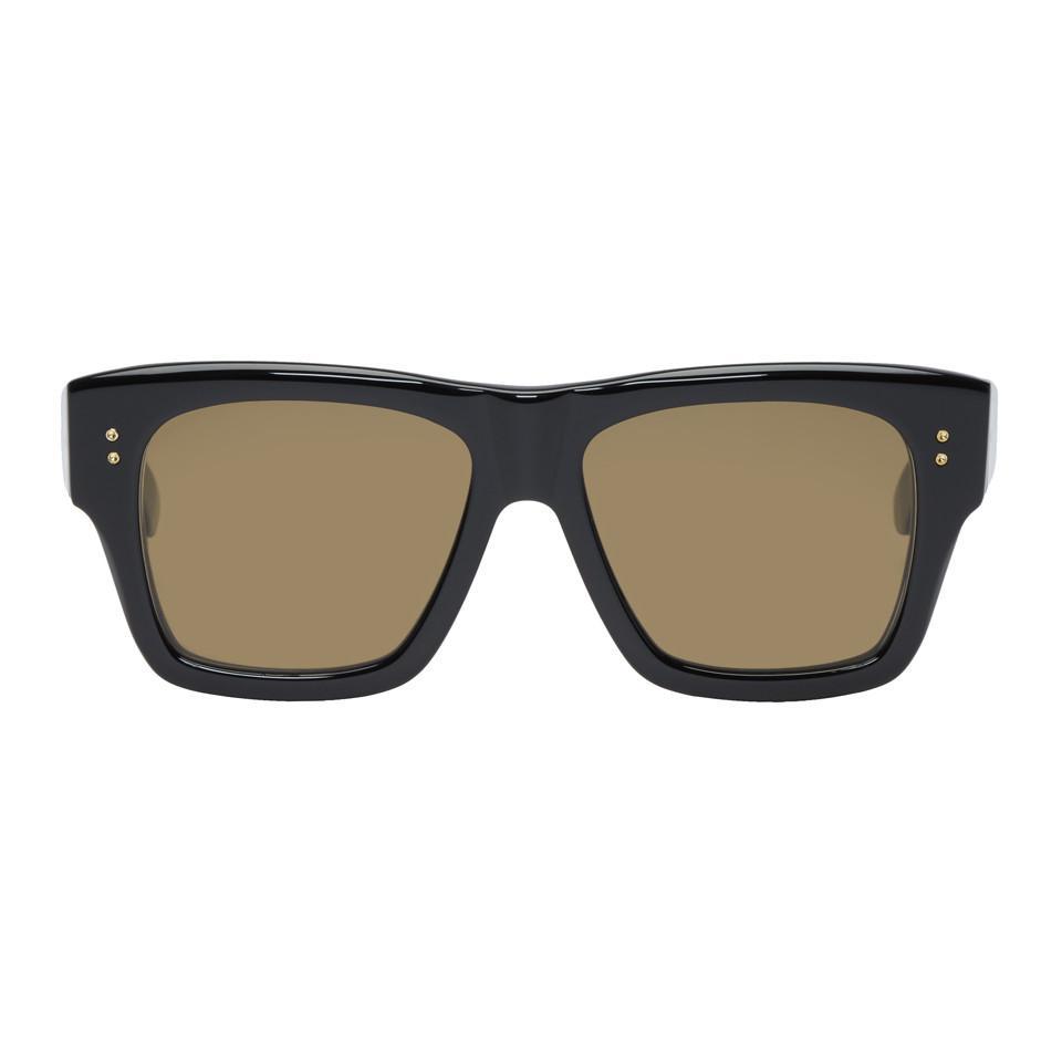 828e35c1b733 DITA Ssense Exclusive Black Creator Sunglasses in Black for Men - Lyst