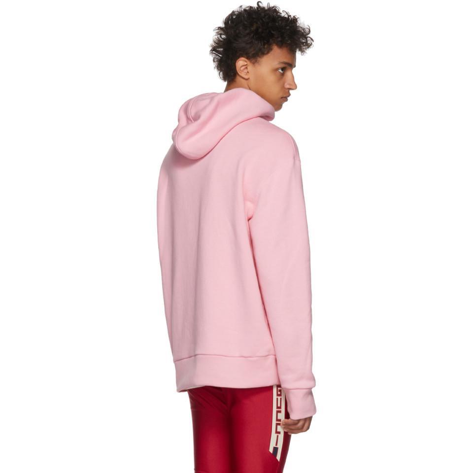 c8caa7b448b5 Gucci - Pink Pull a capuche rose Dragon for Men - Lyst. Afficher en plein  écran