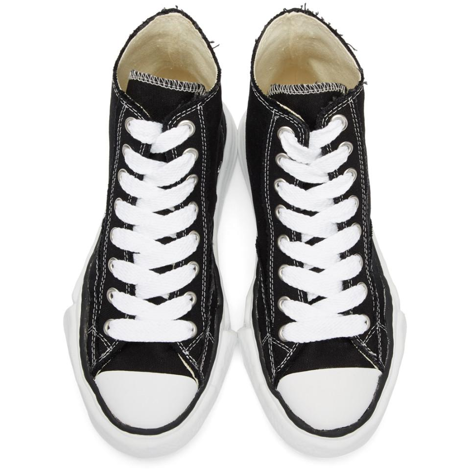 sale 2014 unisex new cheap online Miharayasuhiro Black Original Sole Canvas Sneakers clearance sale online with paypal for sale eJG81