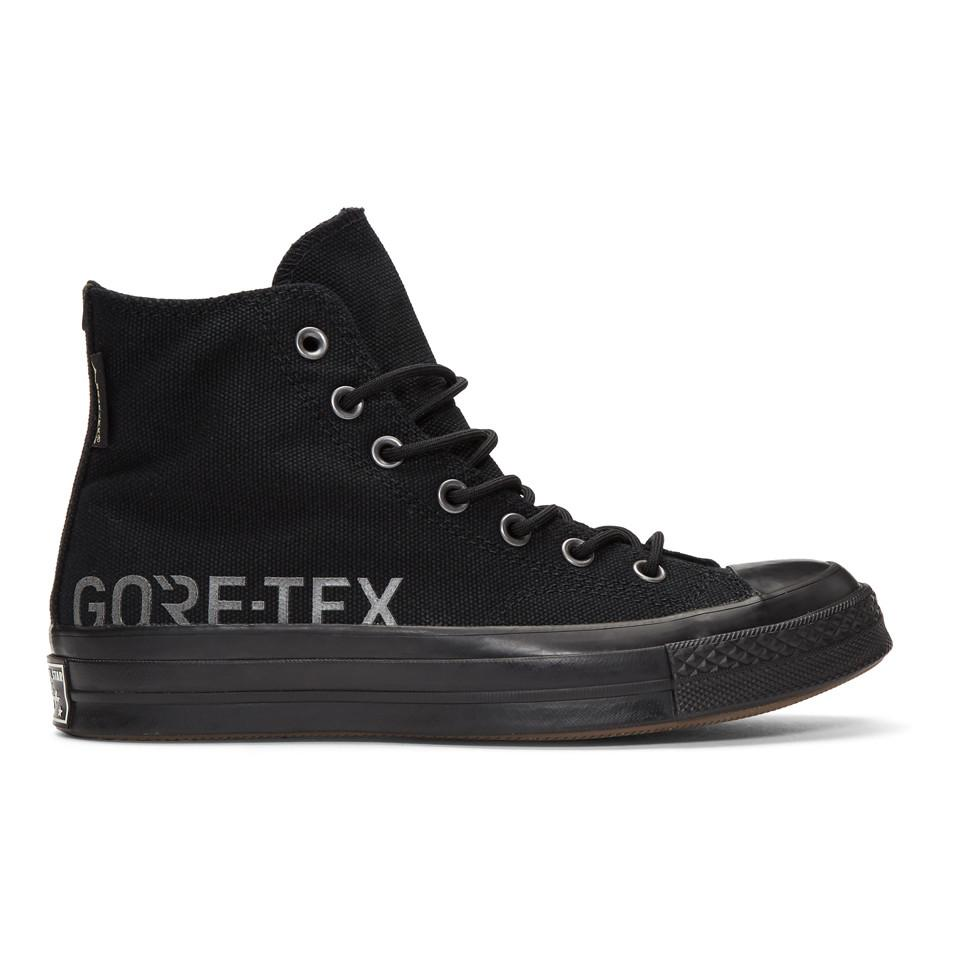 d84a086204bf3a Lyst - Converse Black Gore-tex© Edition Chuck 70 High Sneakers in ...