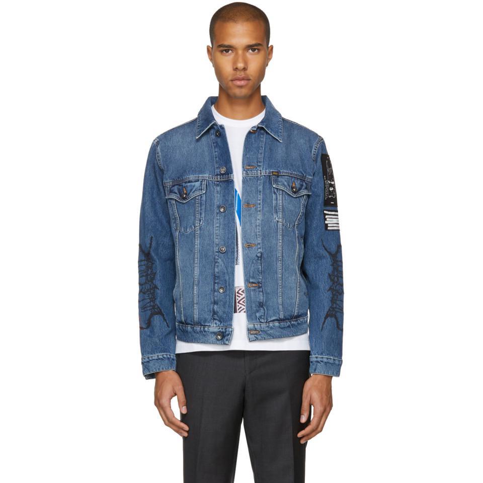 2b9e90ff Tiger Of Sweden Blue Primal Denim Jacket in Blue for Men - Lyst