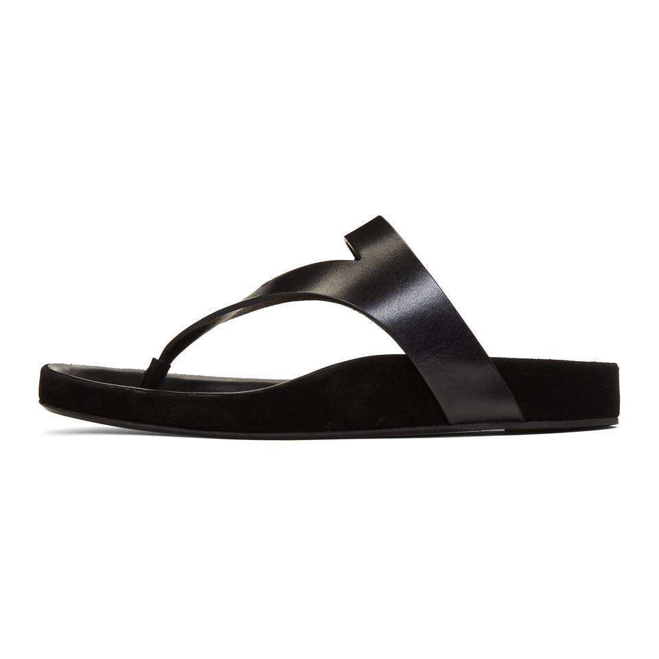Isabel Marant Black Elbry Chic Strap Sandals EU6nKHliV