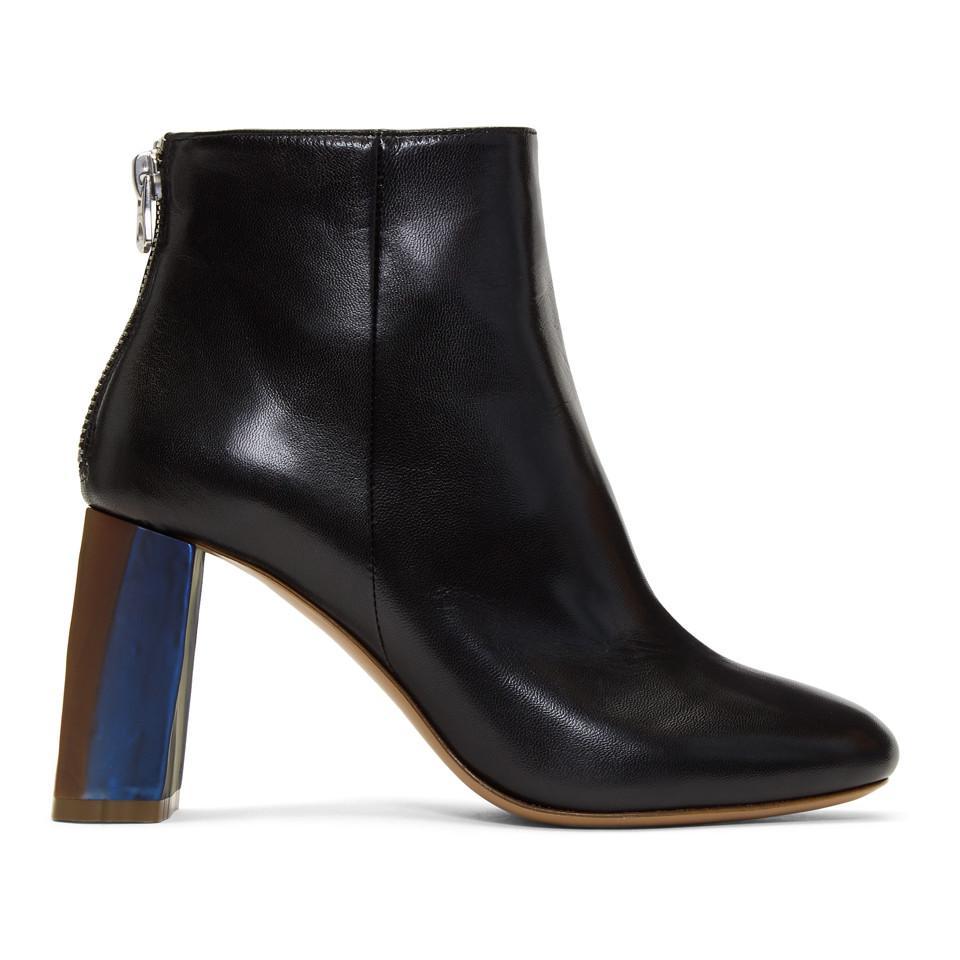 Cherevichkiotvichki Black Lusinda Ankle Boots WYtoM