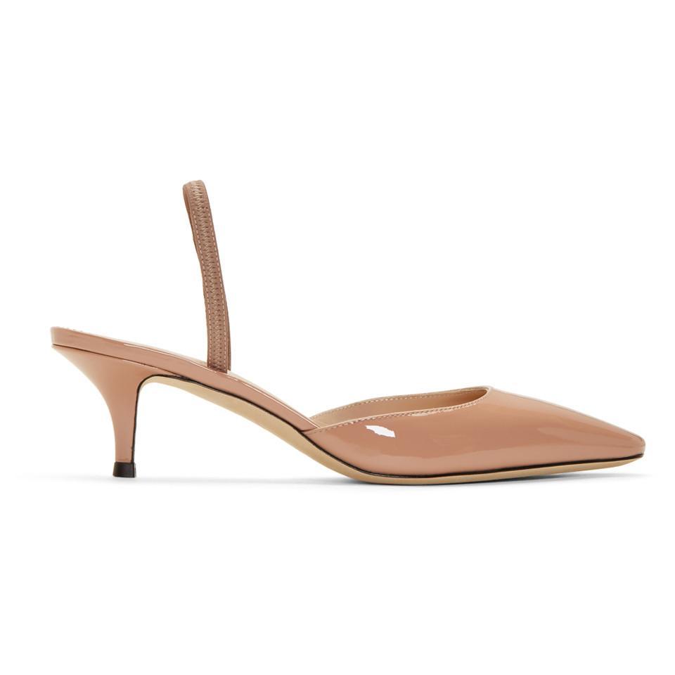 Giuseppe Zanotti Pink Patent Notte 50 Heels nRzTA