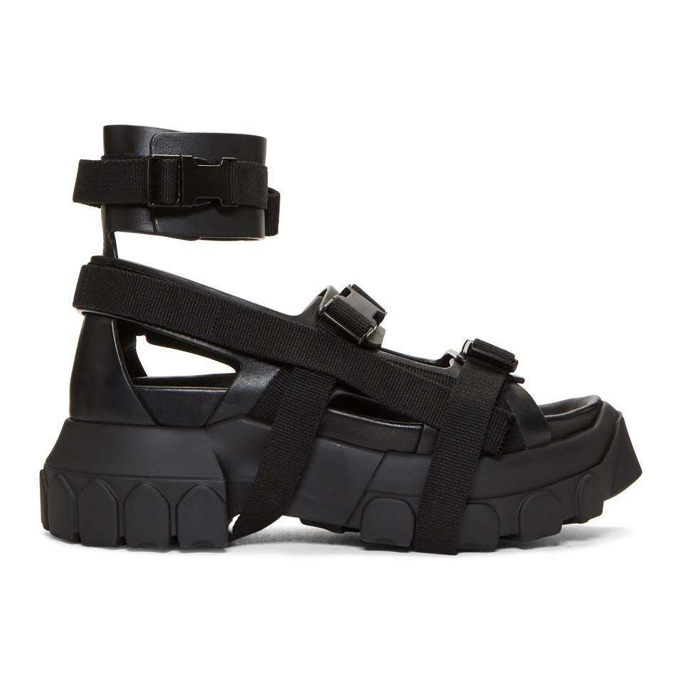 d46284649ec3 Lyst - Rick Owens Sandals in Black