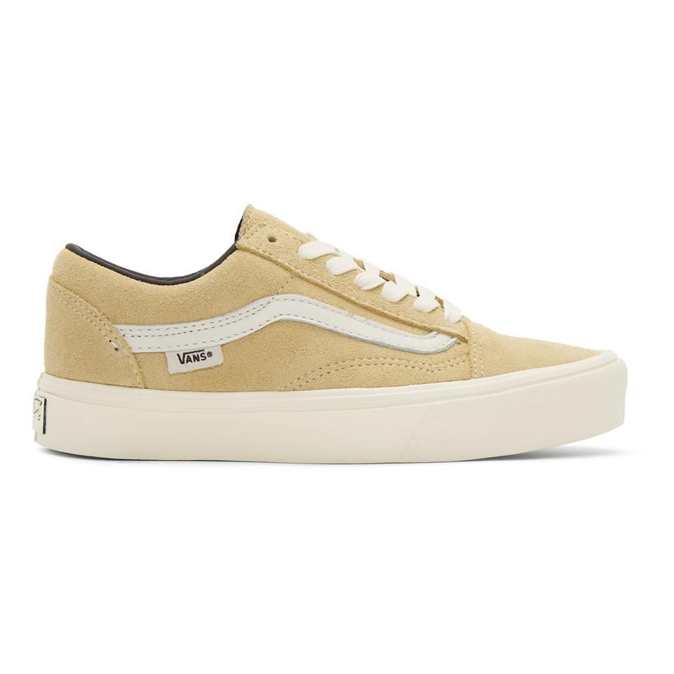 d64f0a5296 For Lx Sneakers In Beige Skool Lyst Lite Natural Vans Old Men wBHfXzxg