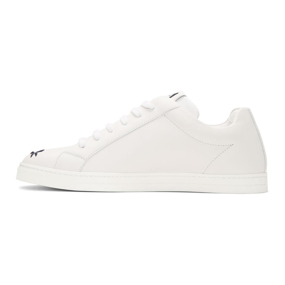 Fendi Off- Butterfleyes Sneakers FDdxx8