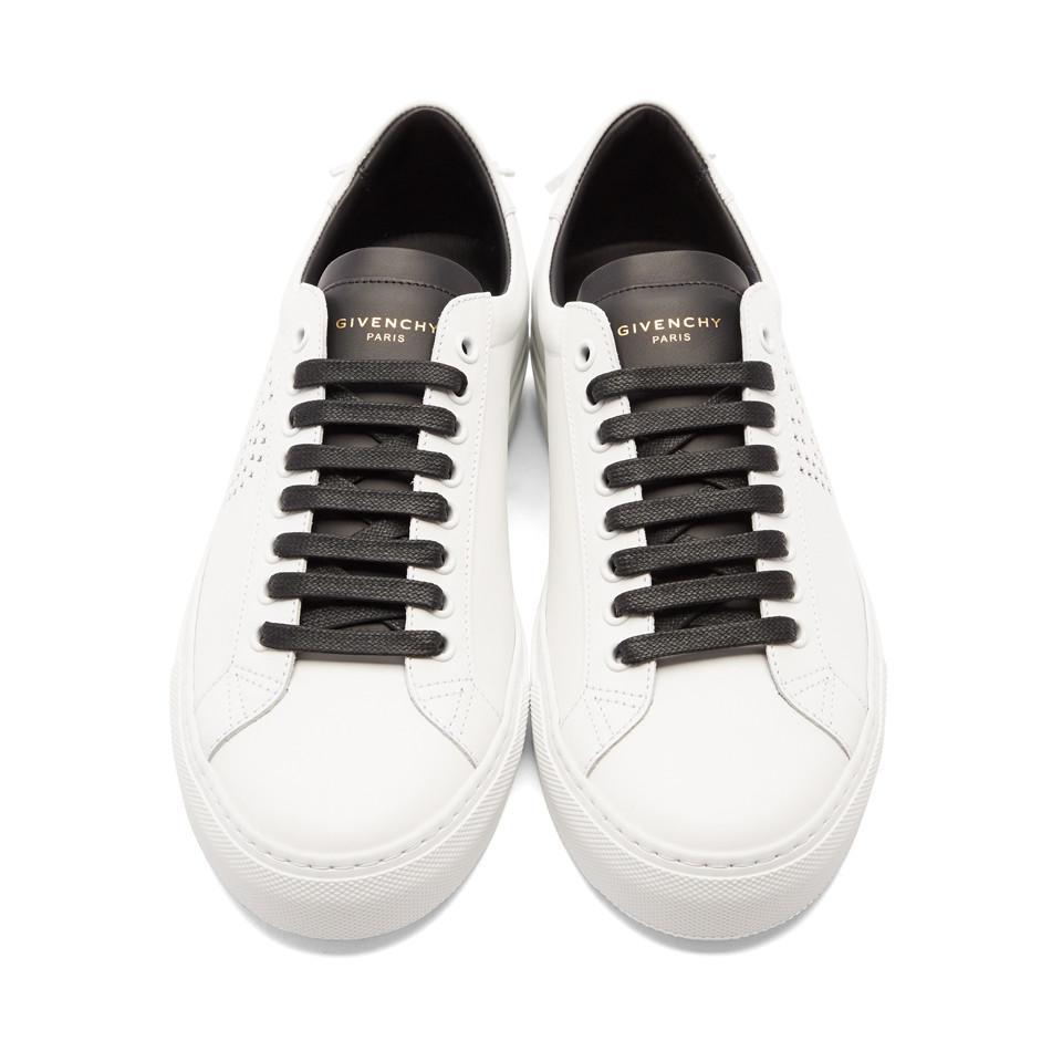White and Black 1952 Urban Street Sneakers Givenchy 7x1QoLU