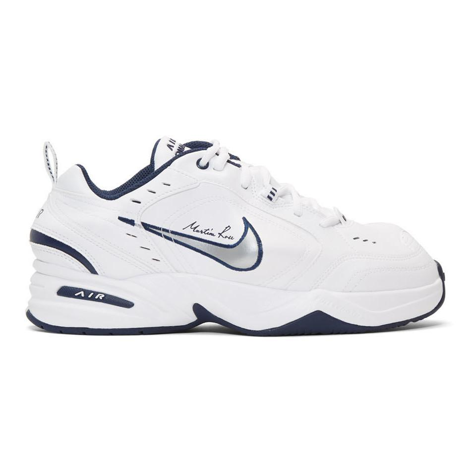 Nike White Martine Rose Edition Air Monarch Iv Sneakers for Men - Lyst 023f751a1