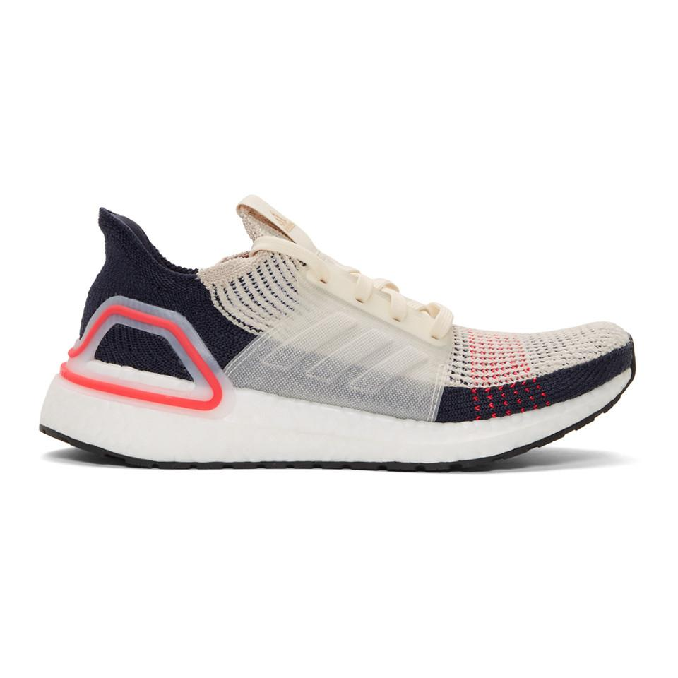 Lyst - adidas Originals Navy And Off-white Ultraboost 19 Sneakers in ... 6a02f54fc119a
