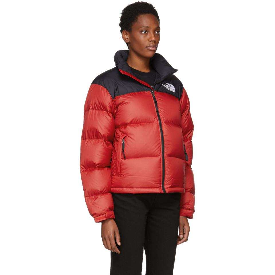 8d5cf3d8ec0 Lyst - Blouson en duvet rouge 1996 Retro Nuptse The North Face en ...