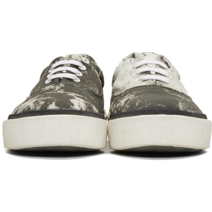 Grey Vulcanized Tie Dye Sneakers Lanvin N31vqn