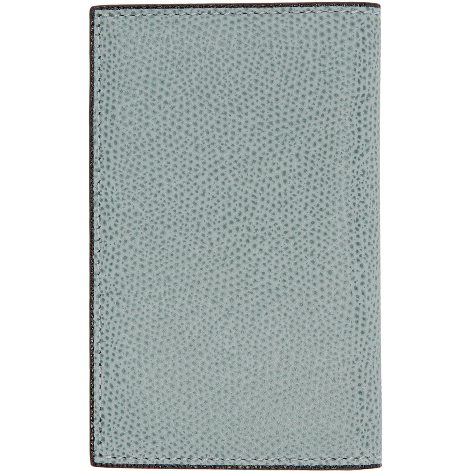 Lyst - Valextra Blue Business Card Holder in Blue