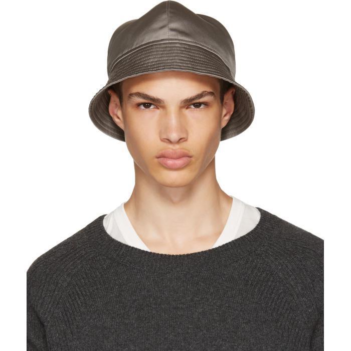 round shaped hat - Brown Rick Owens 96C6zDe5