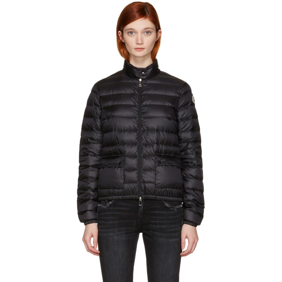 moncler lans black jacket
