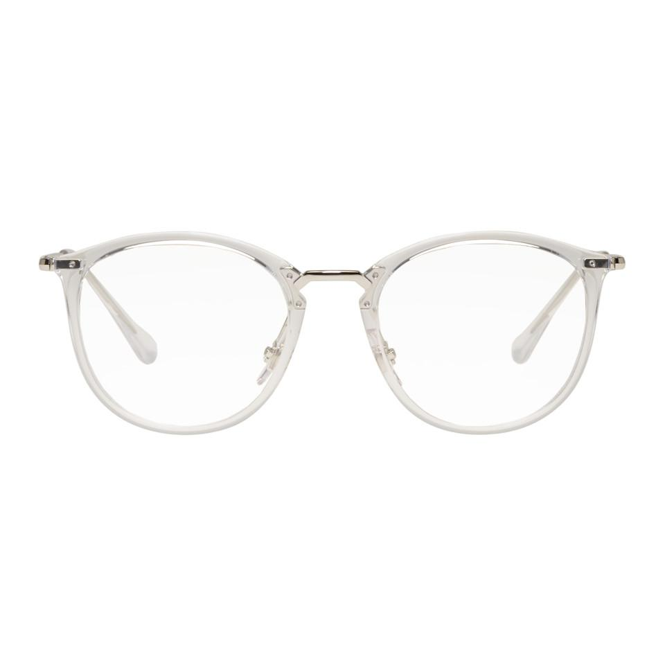 597057a53ea63 Lyst - Lunettes transparentes High Street Ray-Ban pour homme