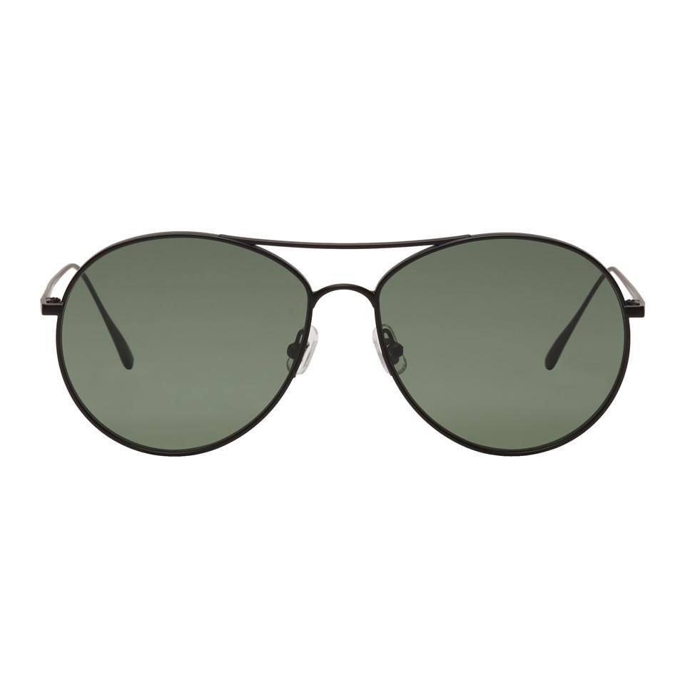 Silver and Grey Ranny Ring Aviator Sunglasses Gentle Monster VVeA7lg