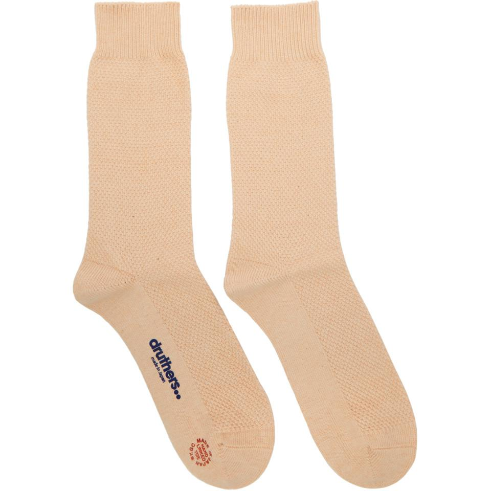 Pink Pique Socks Druthers Discount Low Price Fee Shipping Authentic For Sale Comfortable Clearance New Arrival W6yGN