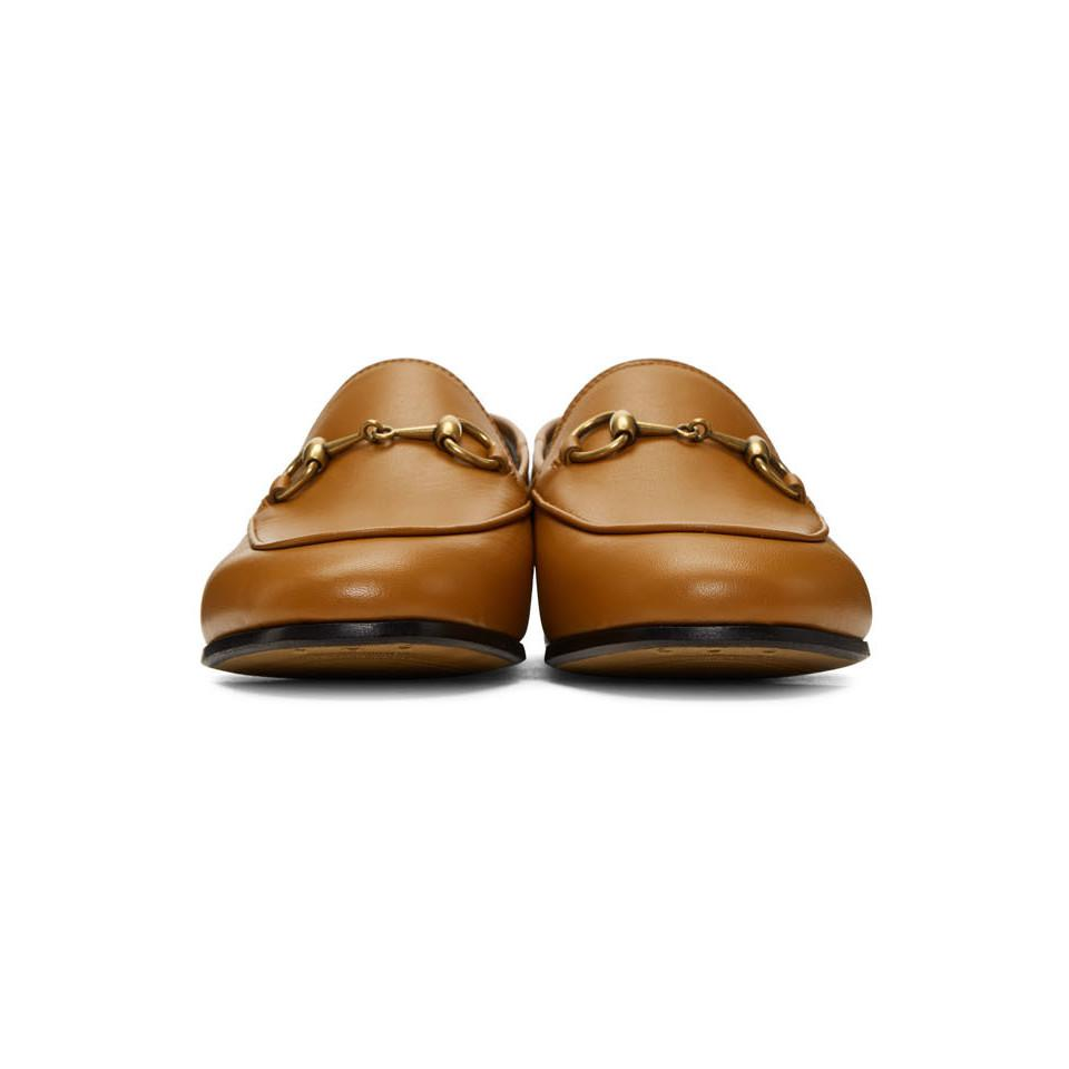 9497f8d8e Gucci - Brown Brixton Crushback Loafers - Lyst. View fullscreen