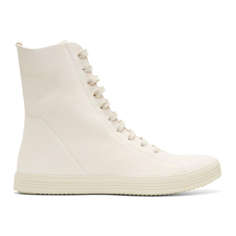 Rick Owens & Off- Mastodon High-Top Sneakers FIOJ3HP4yt