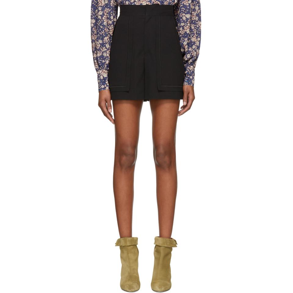 Lucky shorts - Black Isabel Marant vM1Kjj