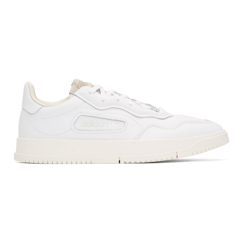 reputable site 9c524 cf846 adidas Originals. Men s White Super Court Premiere Trainers