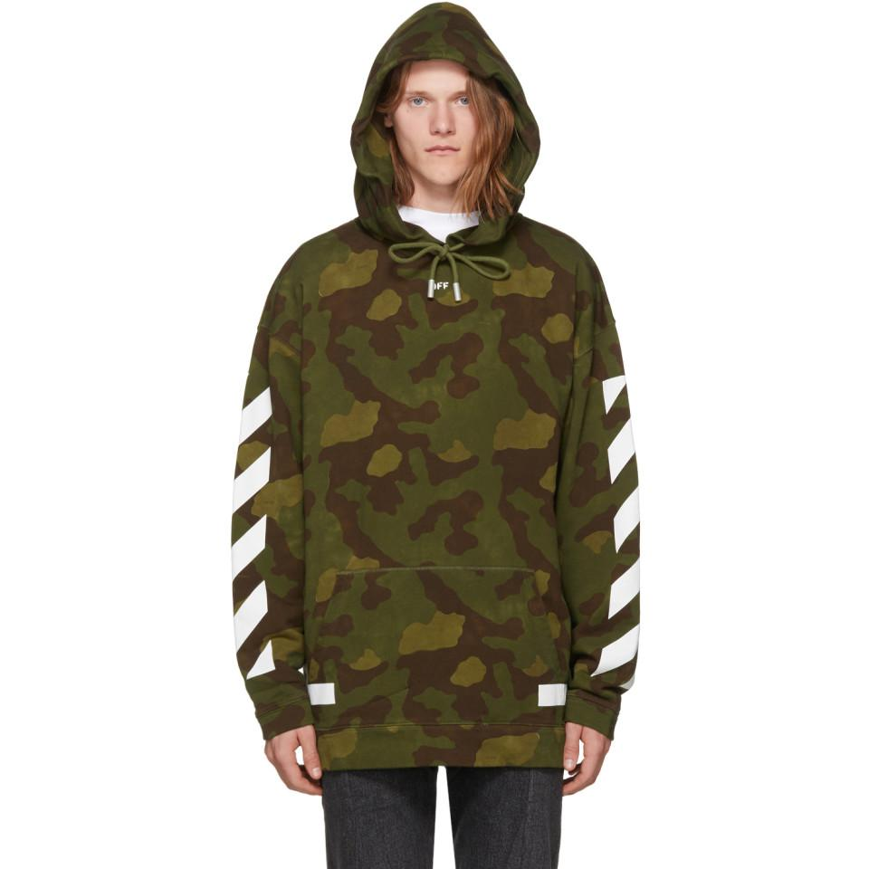 Lyst Off White Co Virgil Abloh Green Camo Diagonal Arrows Over