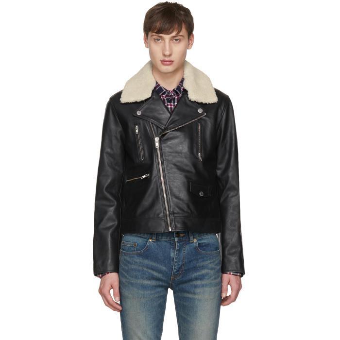 Lyst Tiger Of Sweden Black Leather Fygare 5 Jacket In