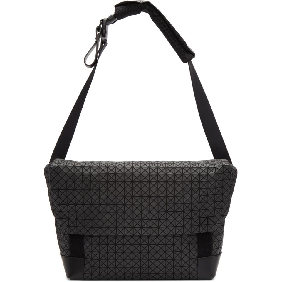 8c52eaf8f12a Bao Bao Issey Miyake Black Sling Messenger Bag in Black for Men - Lyst