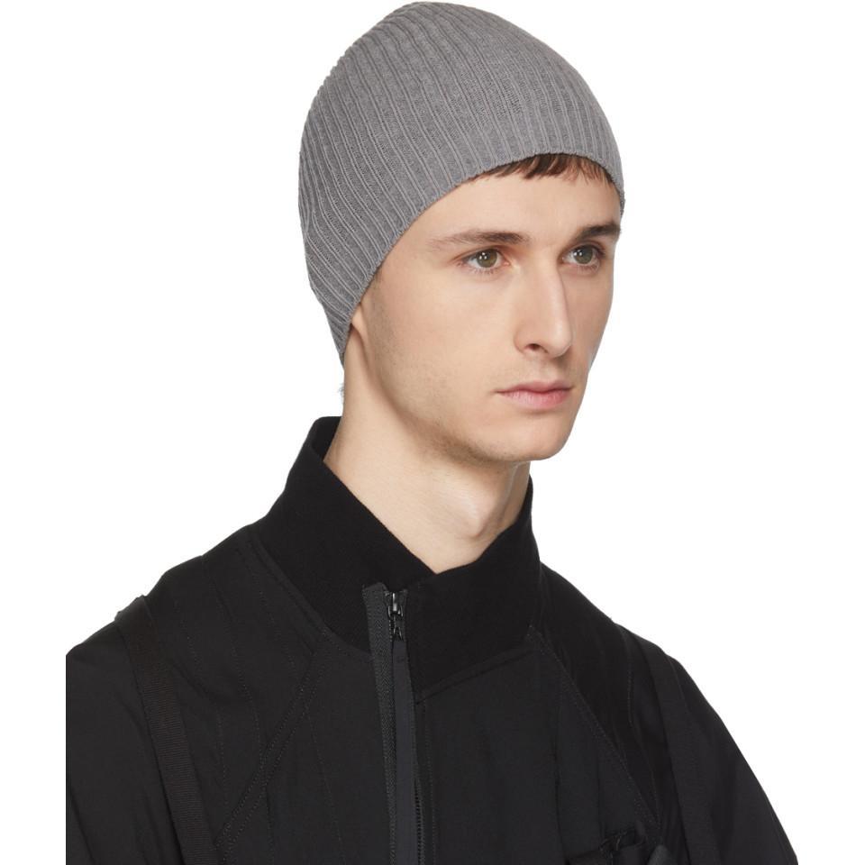 Gris Haute Torsion Coton Bonnet Julius oAsoTPUf5