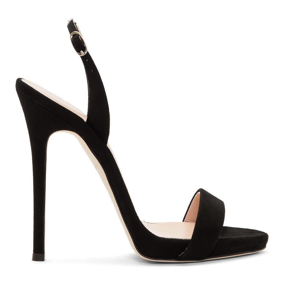 Giuseppe Zanotti Coline Lips Leather Stiletto Sandals BaPSe5xHWA