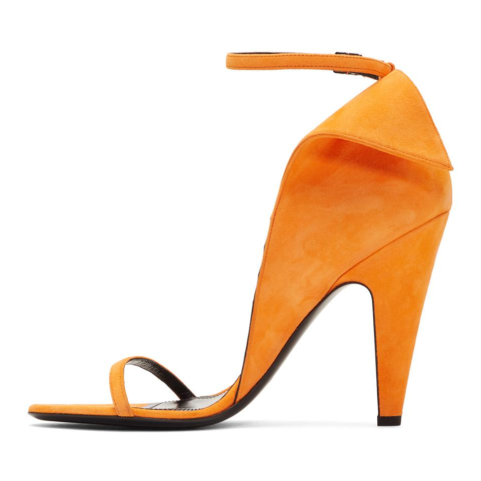 Calvin Klein Suede Carmin Sandals