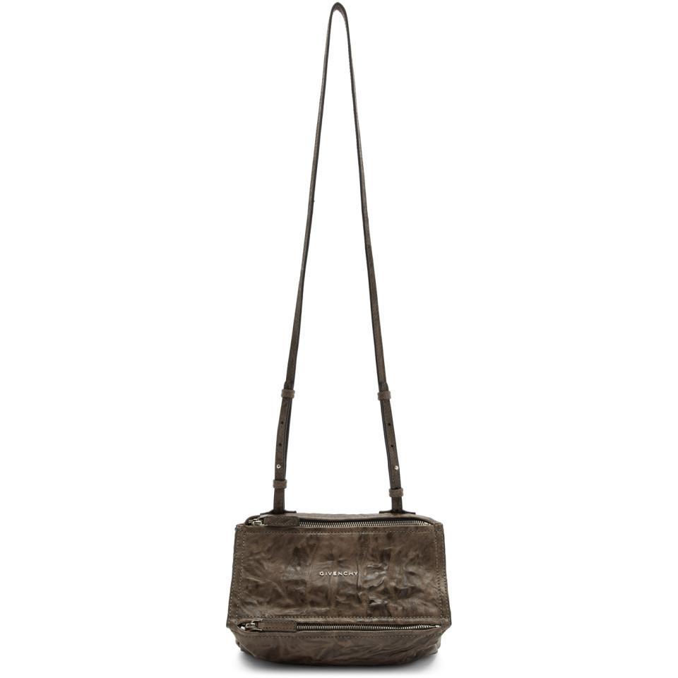 48a06b4b7913 Givenchy - Brown Sac brun Mini Pandora - Lyst. Afficher en plein écran