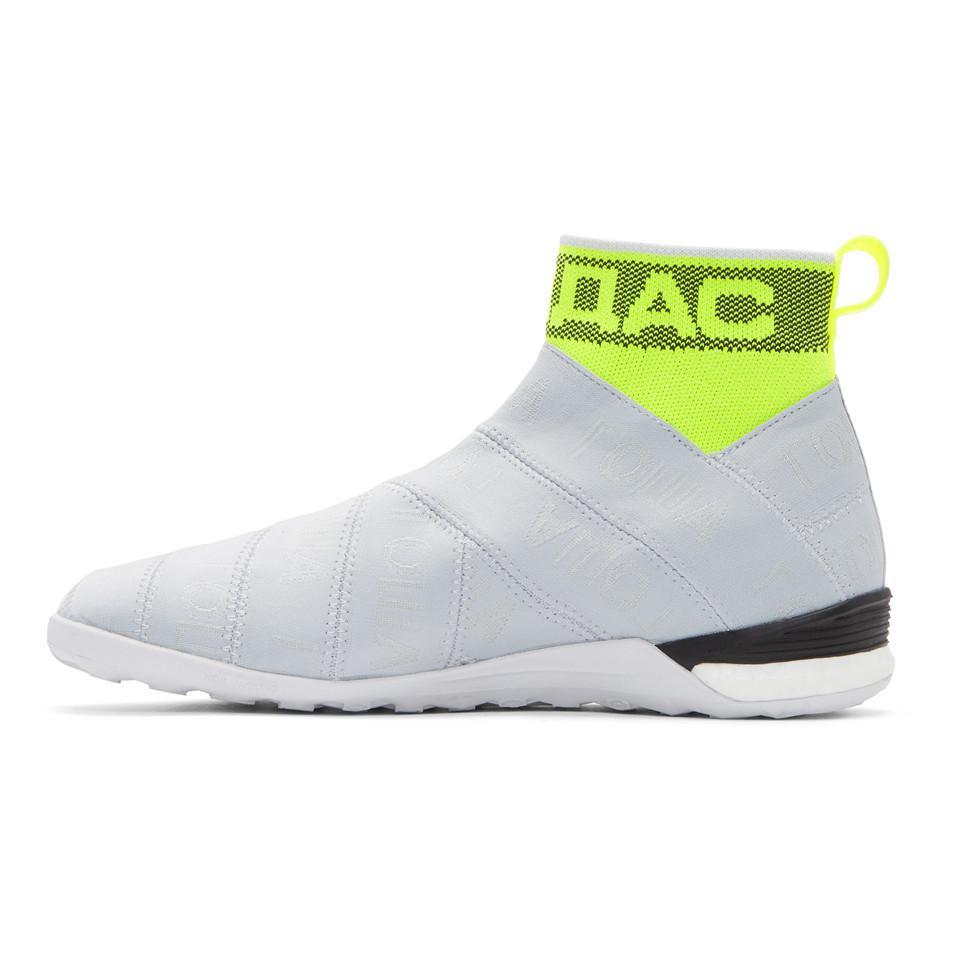 Grey adidas Original Edition Nemeziz Mid Sneakers Gosha Rubchinskiy Recommend Online dNxJ0s66