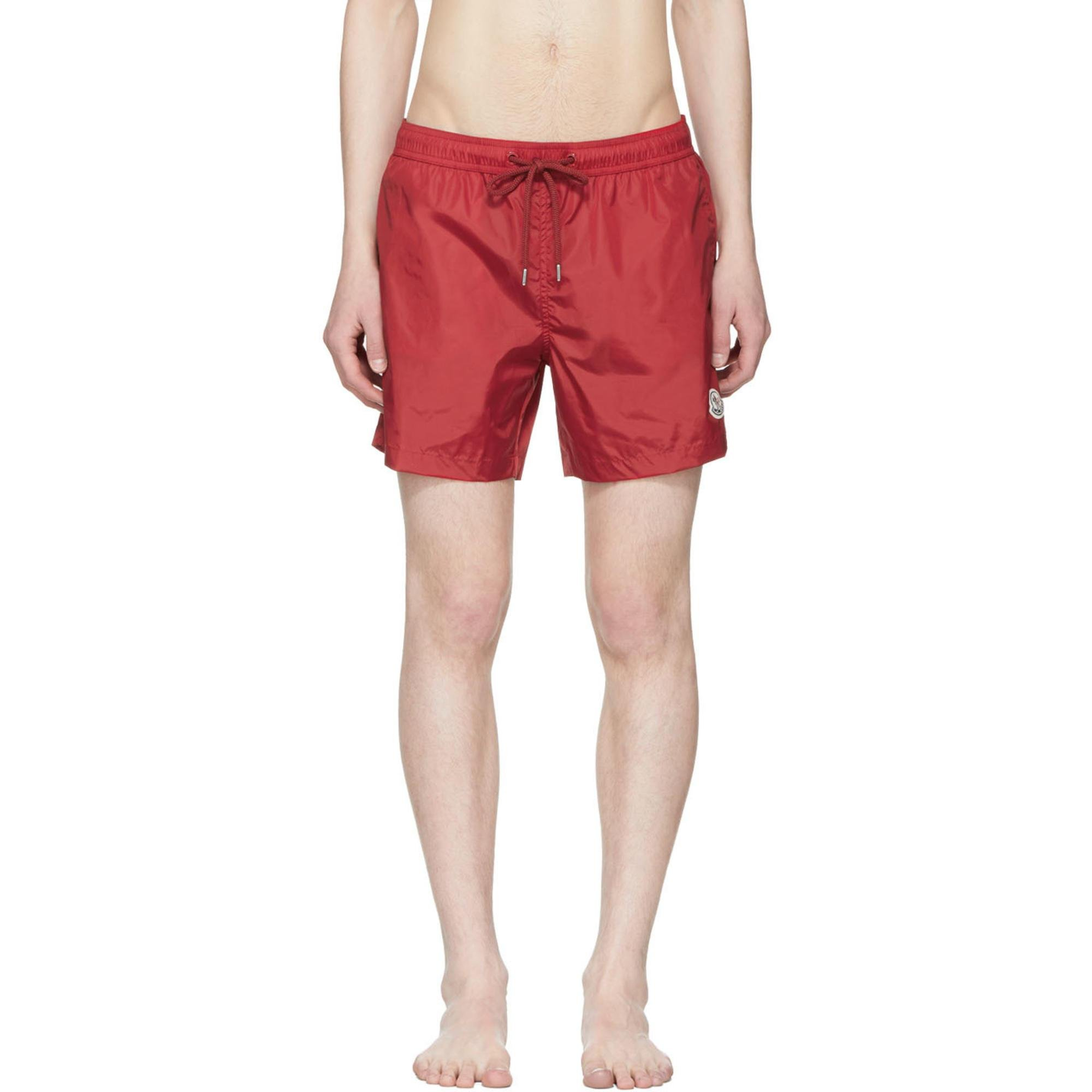 moncler red shorts