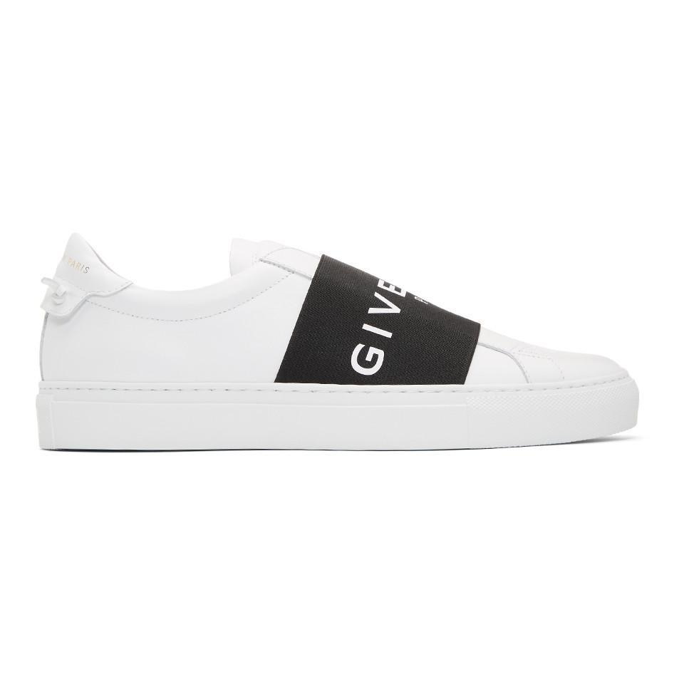 326d79830dd Lyst - Baskets a enfiler blanches Urban Knots Givenchy pour homme en ...