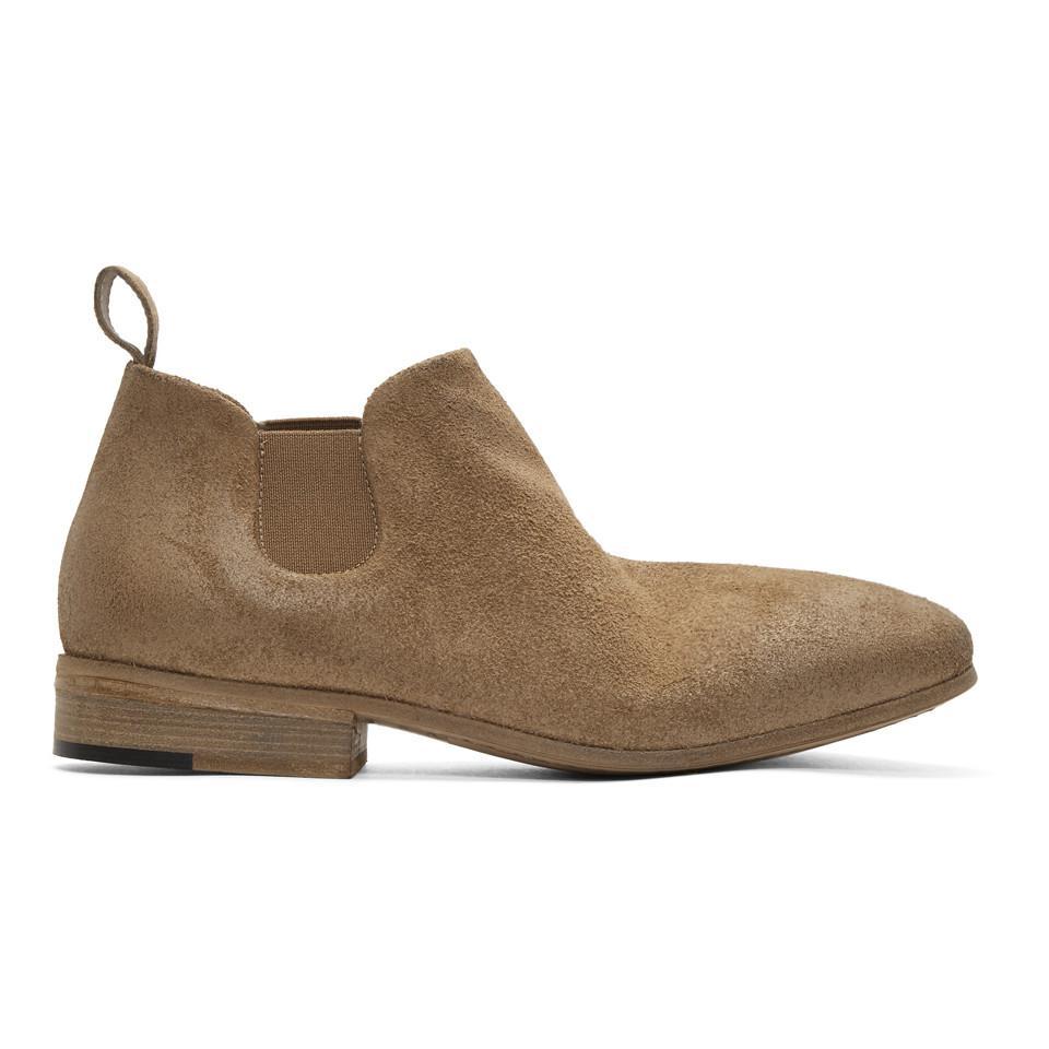 Marsèll Black Suede Dodo Chelsea Boots aNqEnBx
