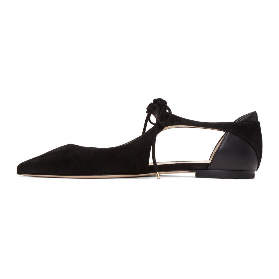 new concept f121f 454b4 jimmy-choo-black-Black-Suede-Vanessa-Ballerina-Flats.jpeg