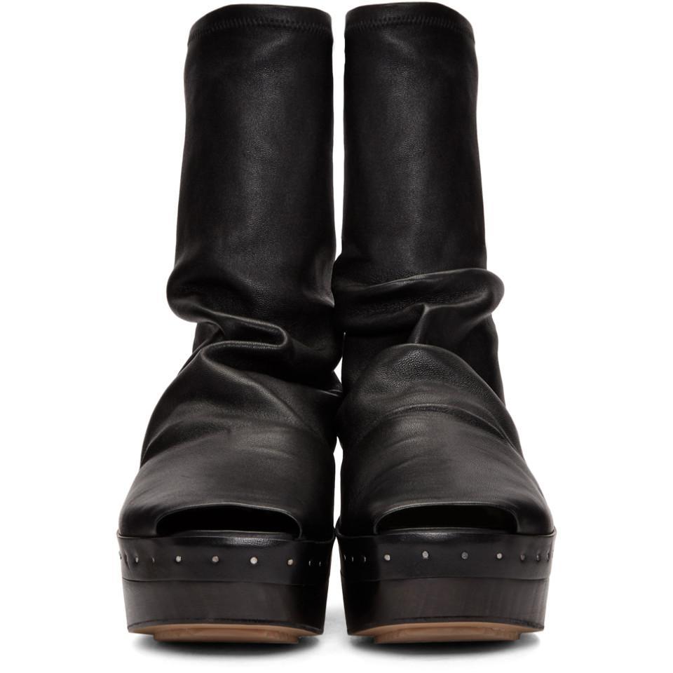 Rick OwensSabot Sock Boots eUehgXI