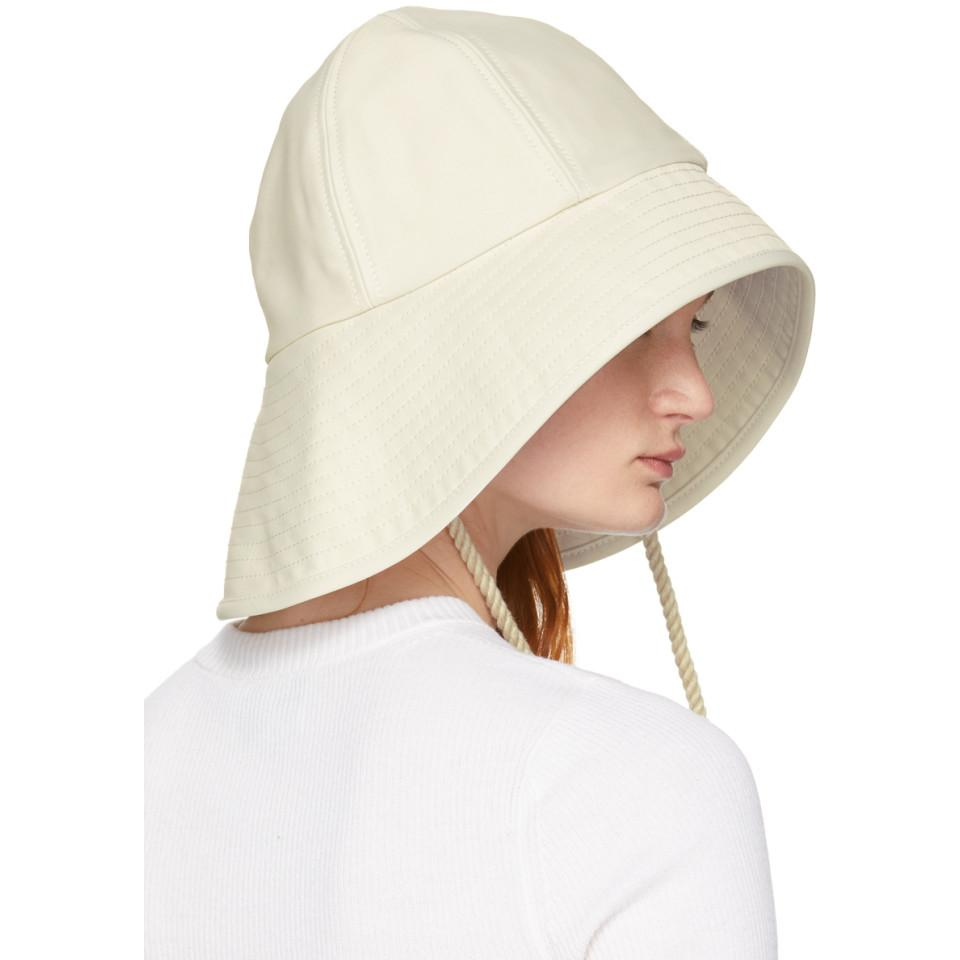 8f08770d72fa4 3.1 Phillip Lim - Off-white Sporting Bucket Hat - Lyst. View fullscreen