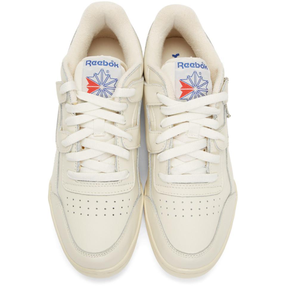 Reebok - White Workout Plus 1987 Tv Sneakers for Men - Lyst. View fullscreen 3058891fc