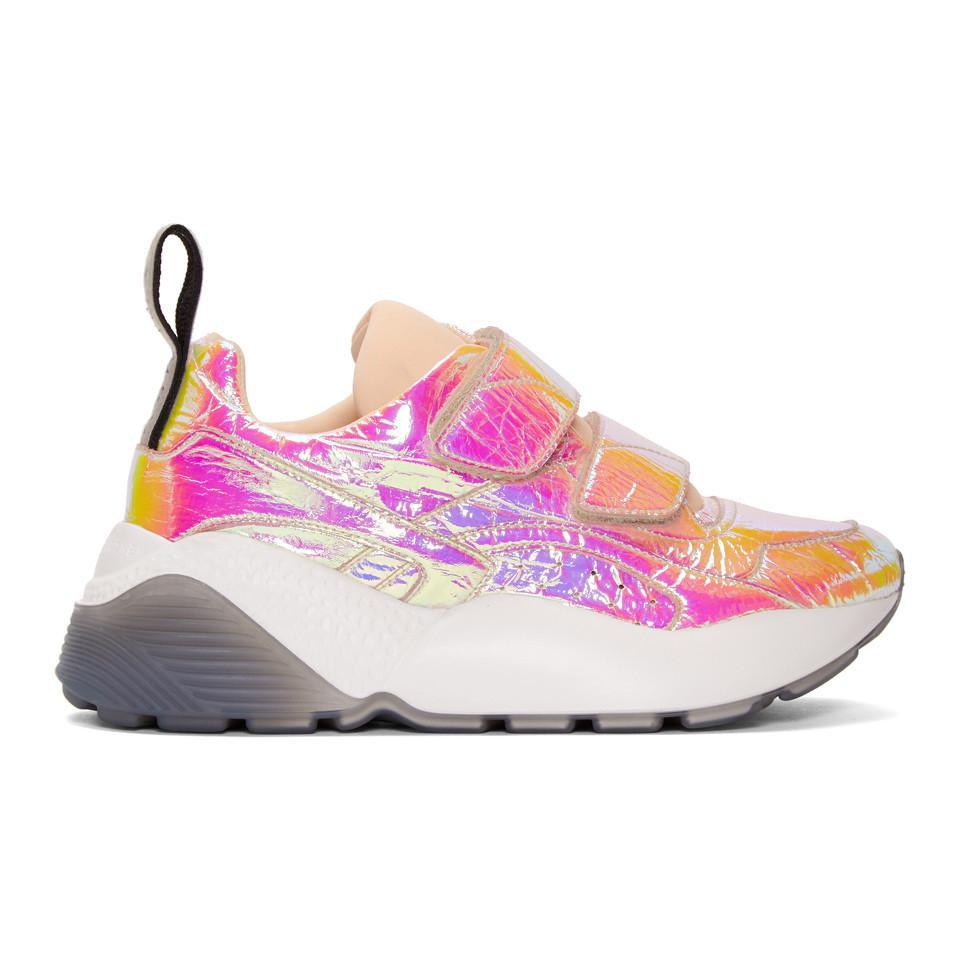 Pink Metallic Eclypse Sneakers Stella McCartney foxxzHt