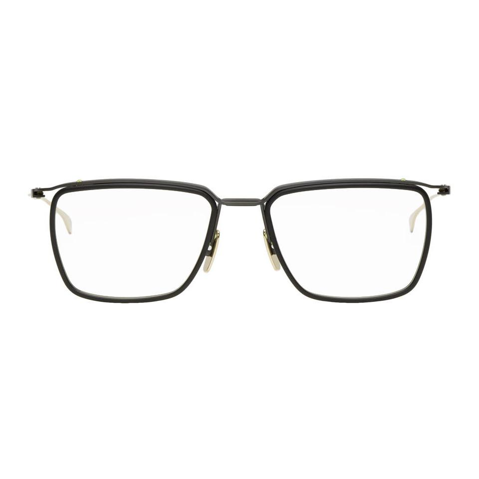 4efcd6d49eb7 Lyst - Dita Black And Gold Schema-one Glasses for Men