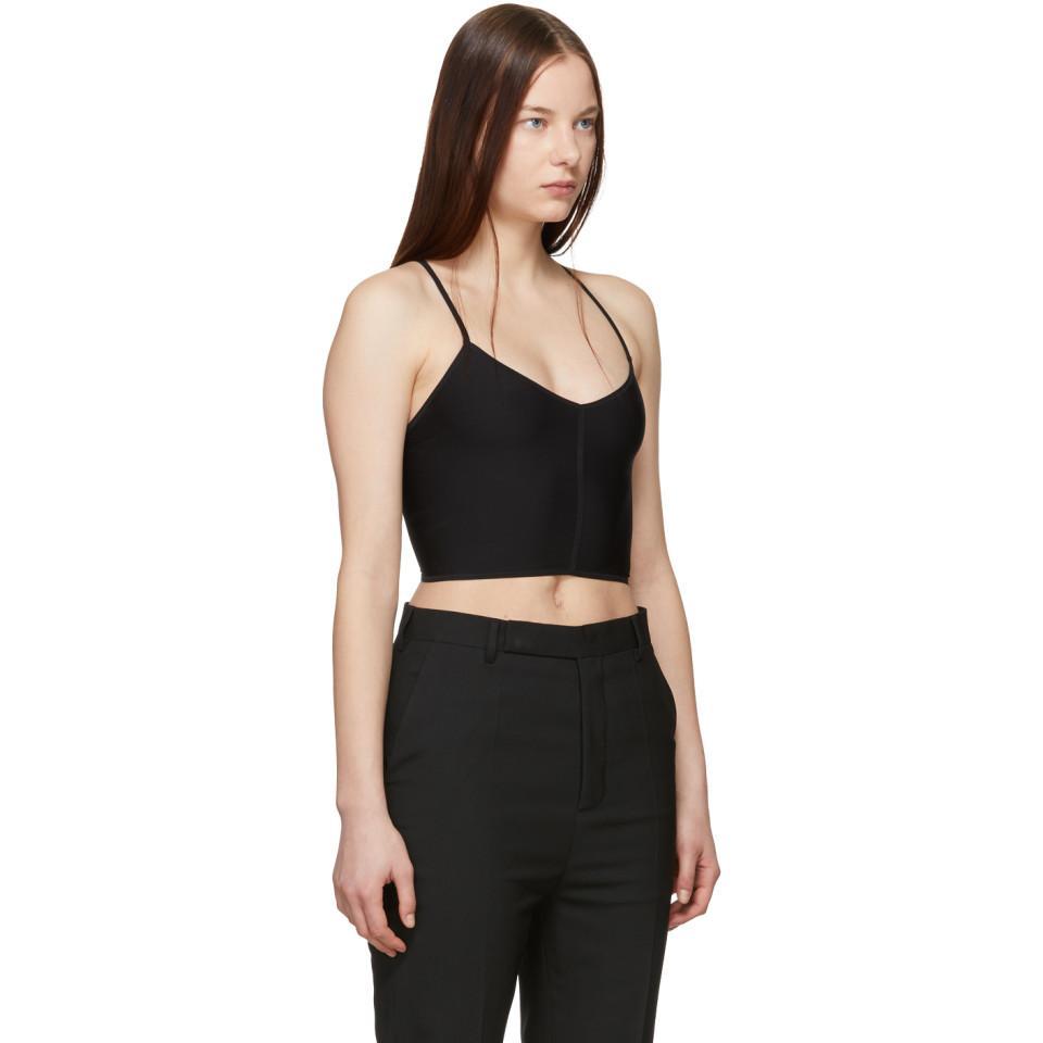 6082dc6dbfd Ann Demeulemeester - Black La Fille Do Edition Jersey Bralette - Lyst. View  fullscreen
