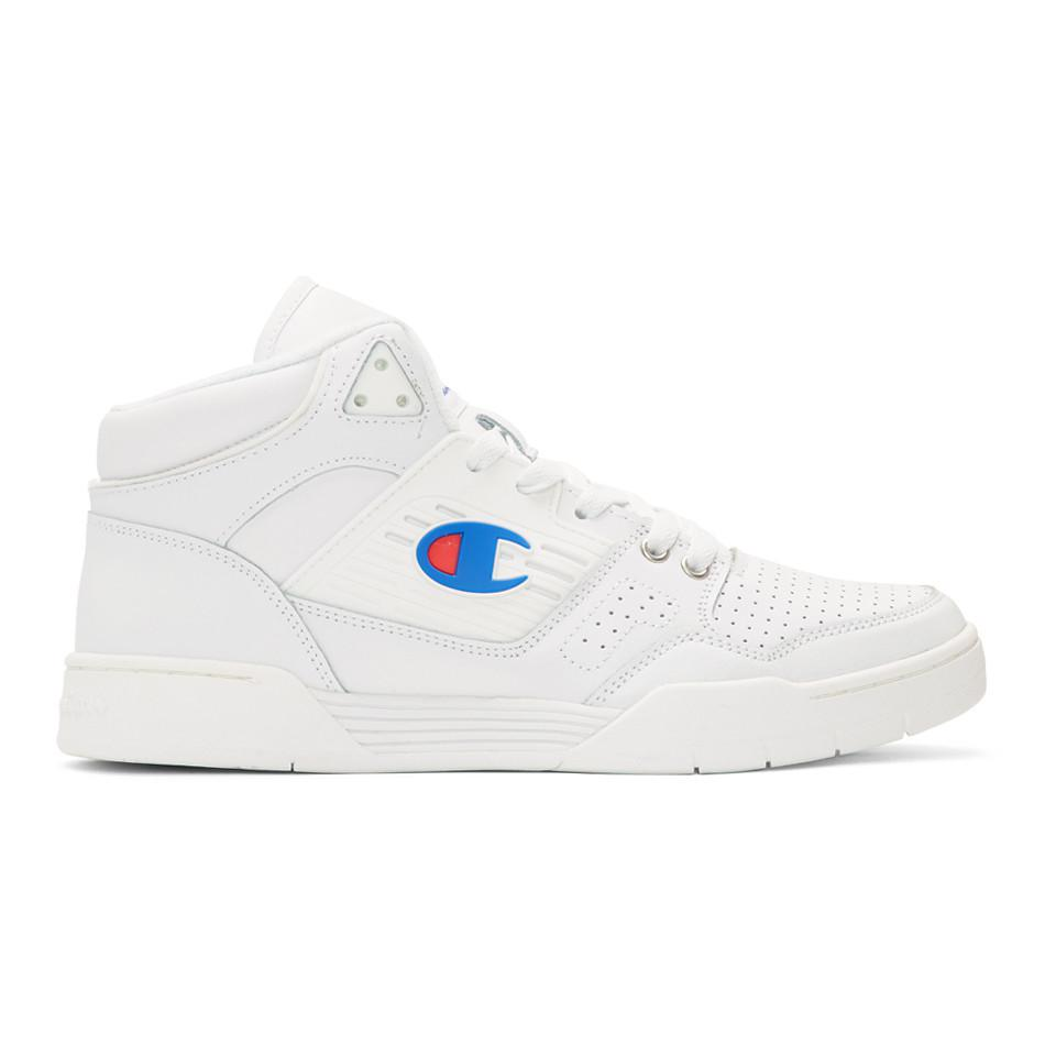 d8bbf3cad Lyst - Champion White 3 On 3 Sp High-top Sneakers in White for Men ...