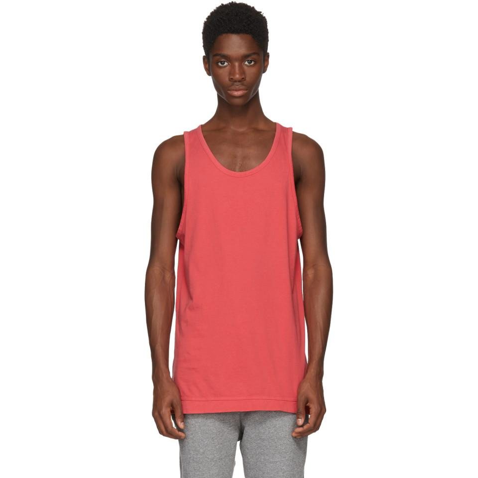 2adfebaa93948f Lyst - John Elliott Red Mercer Tank Top in Red for Men