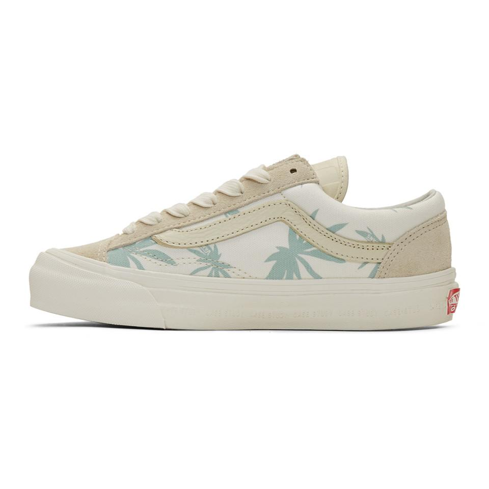 560bd3c9e25 Lyst - Vans White Modernica Edition Style 36 Xl Palm Leaf Sneakers ...