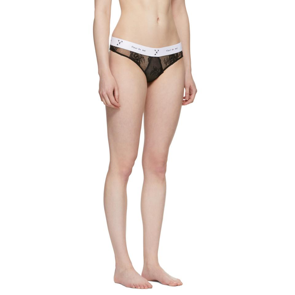 Really Cheap Shoes Online Black Lace Garcon Cheeky Thong Fleur du Mal Outlet Manchester Great Sale TjYrWZ