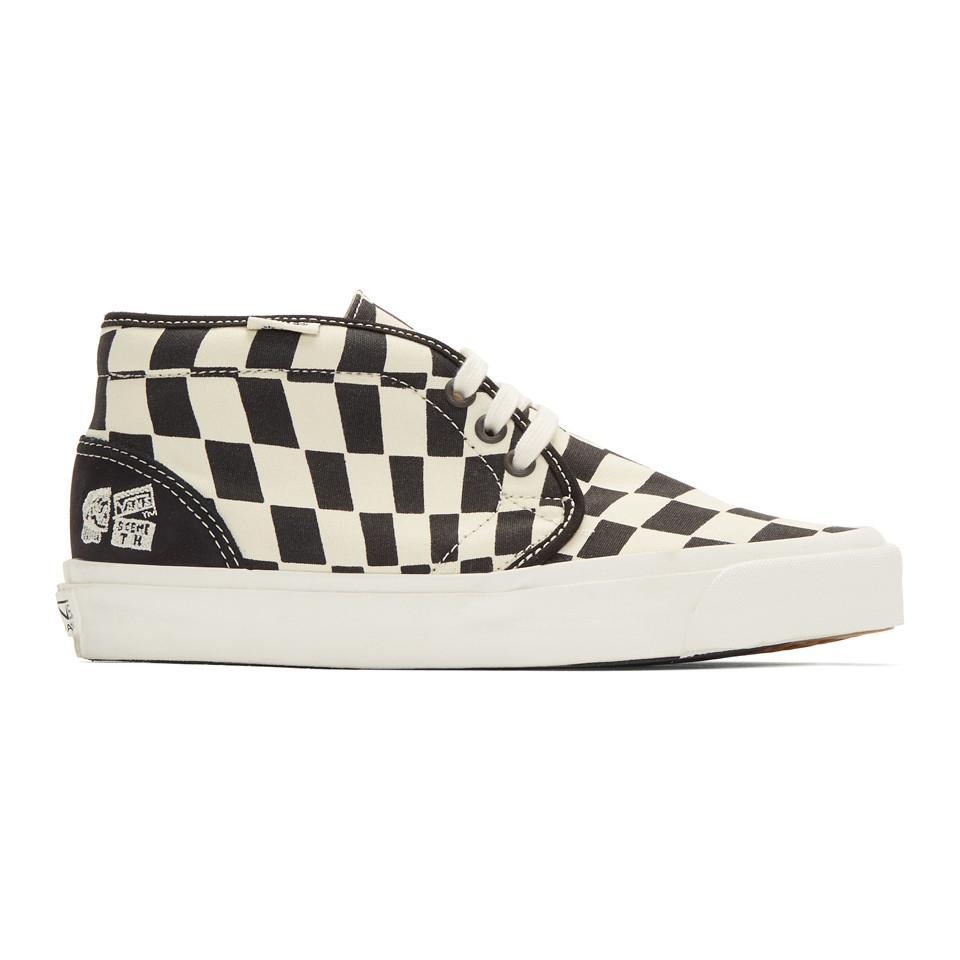 Converse Black & White Taka Hayashi Edition Chukka 75 Sneakers