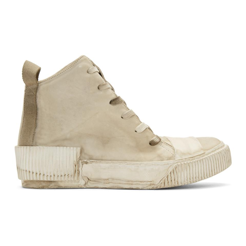 10e1f0a176b4 Lyst - Boris Bidjan Saberi Grey Kangaroo Sneakers in Gray for Men